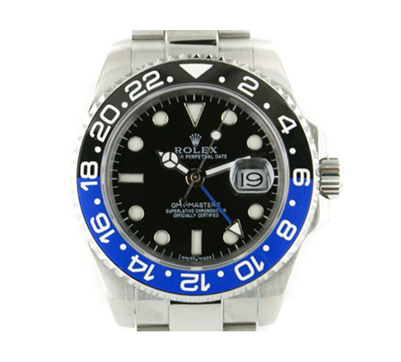 Rolex Blau