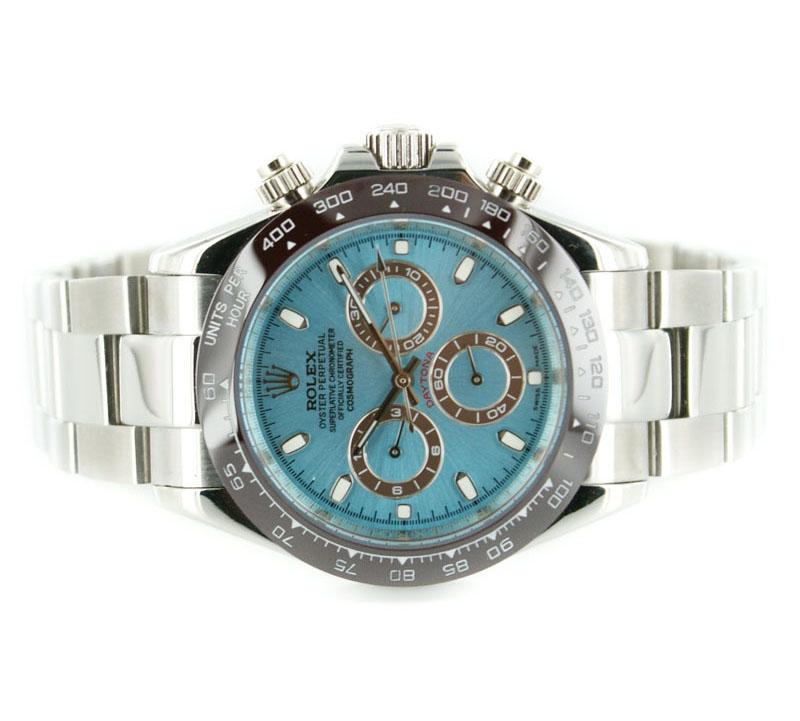 Rolex Uhr Blau